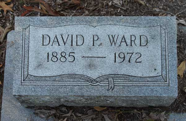 David P. Ward Gravestone Photo