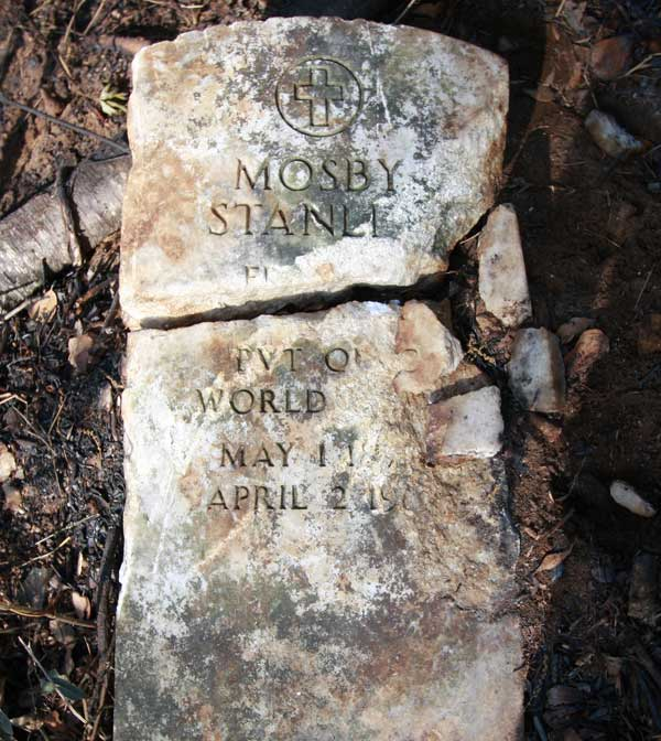 Mosby Stanley Gravestone Photo