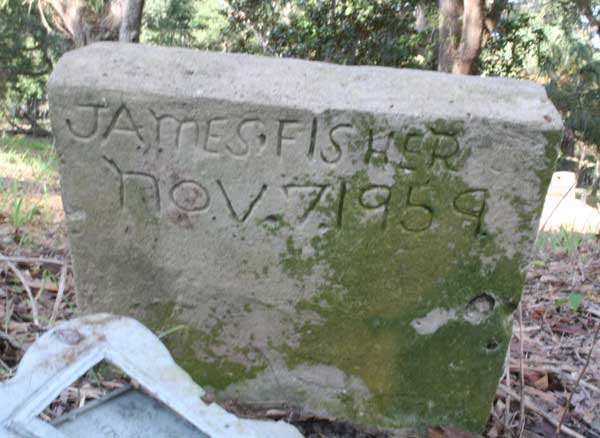 James Fisher Gravestone Photo