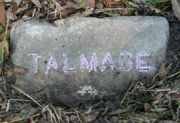 Talmage Latson Gravestone Photo