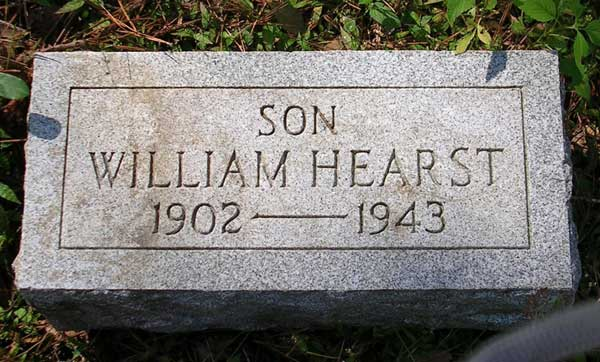 William Hearst Gravestone Photo