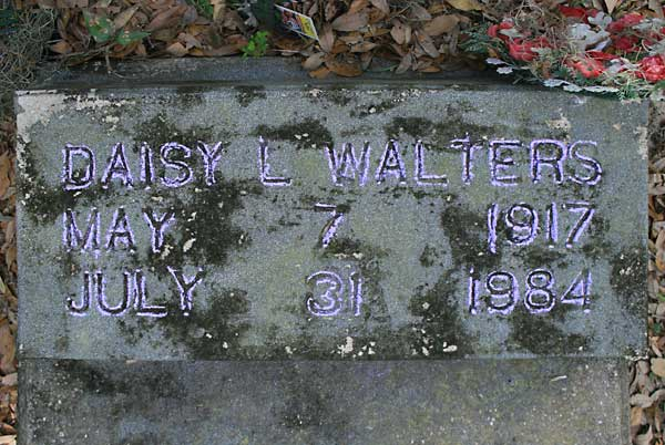 Daisy L. Walters Gravestone Photo