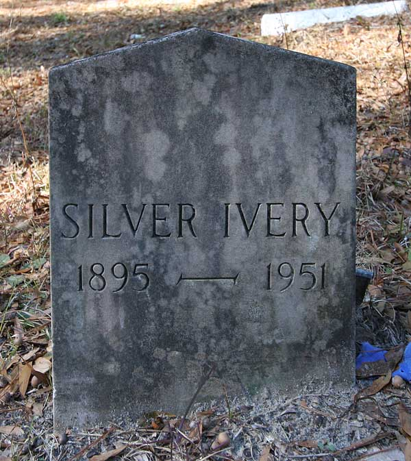 Silver Ivery Gravestone Photo