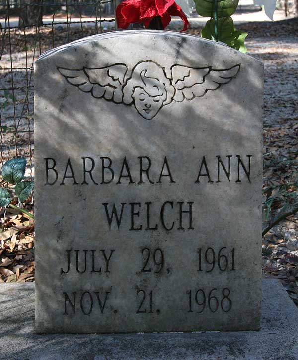 Barbara Ann Welch Gravestone Photo