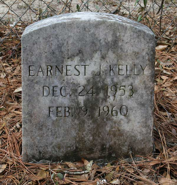 Earnest J. Kelly Gravestone Photo