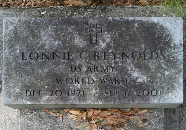 Lonnie C. Reynolds Gravestone Photo