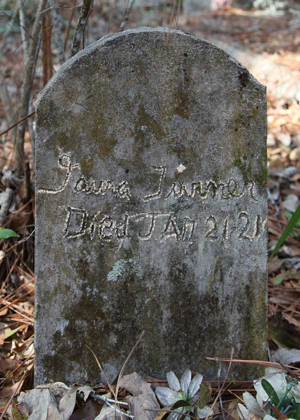 Laura Turner Gravestone Photo