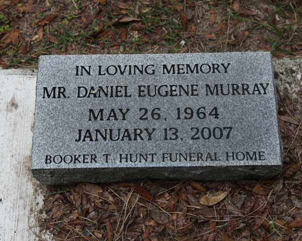 Mr. Daniel Eugene Murray Gravestone Photo