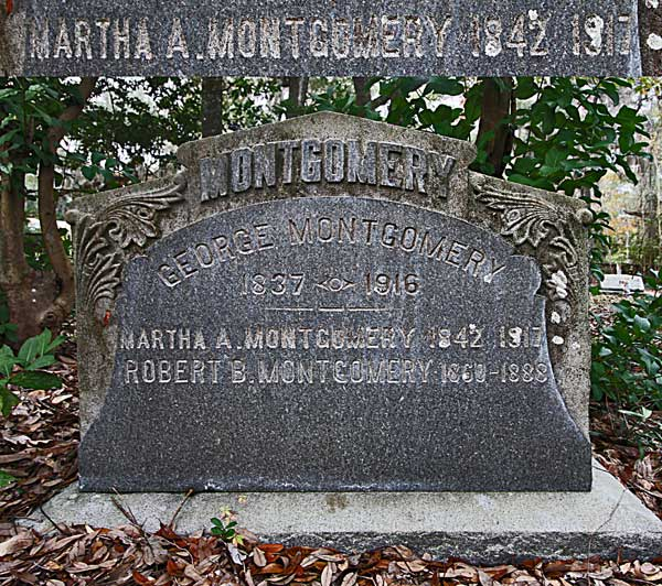Martha A. Montgomery Gravestone Photo