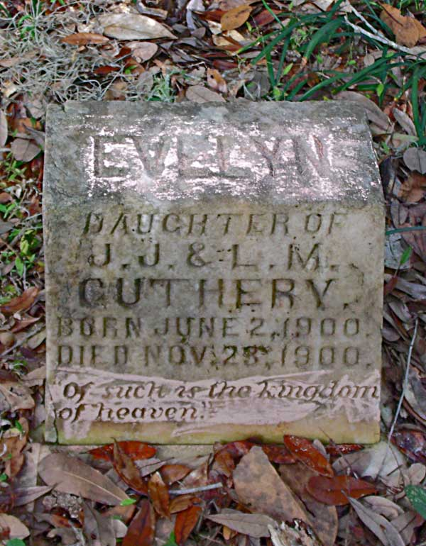 Evelyn Guthery Gravestone Photo