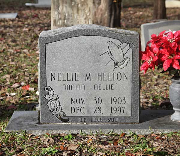 Nellie M. Helton Gravestone Photo
