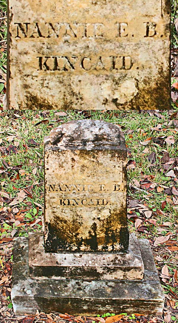 Nannie E. B. Kincaid Gravestone Photo