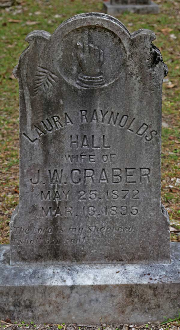 Laura Raynolds Craber Gravestone Photo