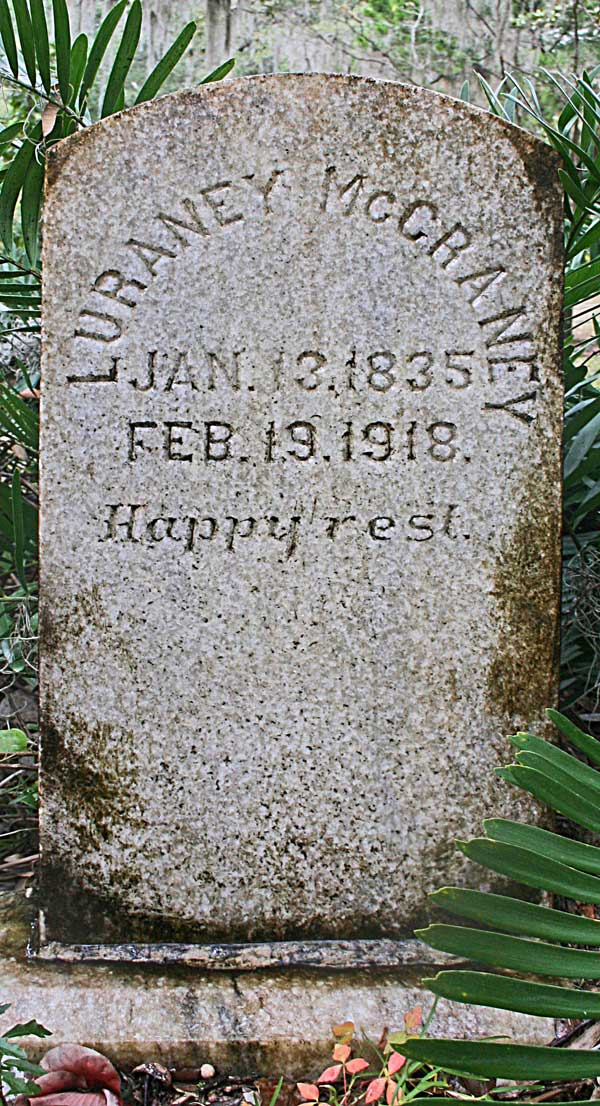 Luraney McCraney Gravestone Photo