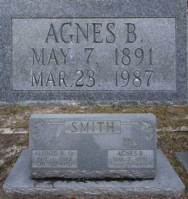 Agnes B. Smith Gravestone Photo