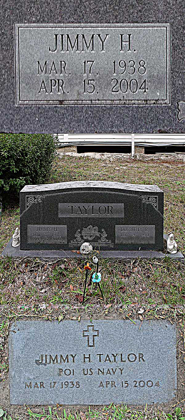 Jimmy H. Taylor Gravestone Photo