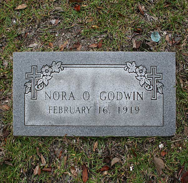 Nora O. Godwin Gravestone Photo