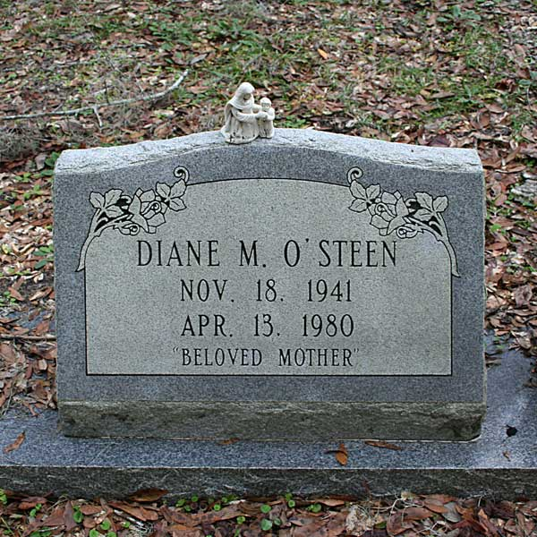 Diane M. O'Steen Gravestone Photo