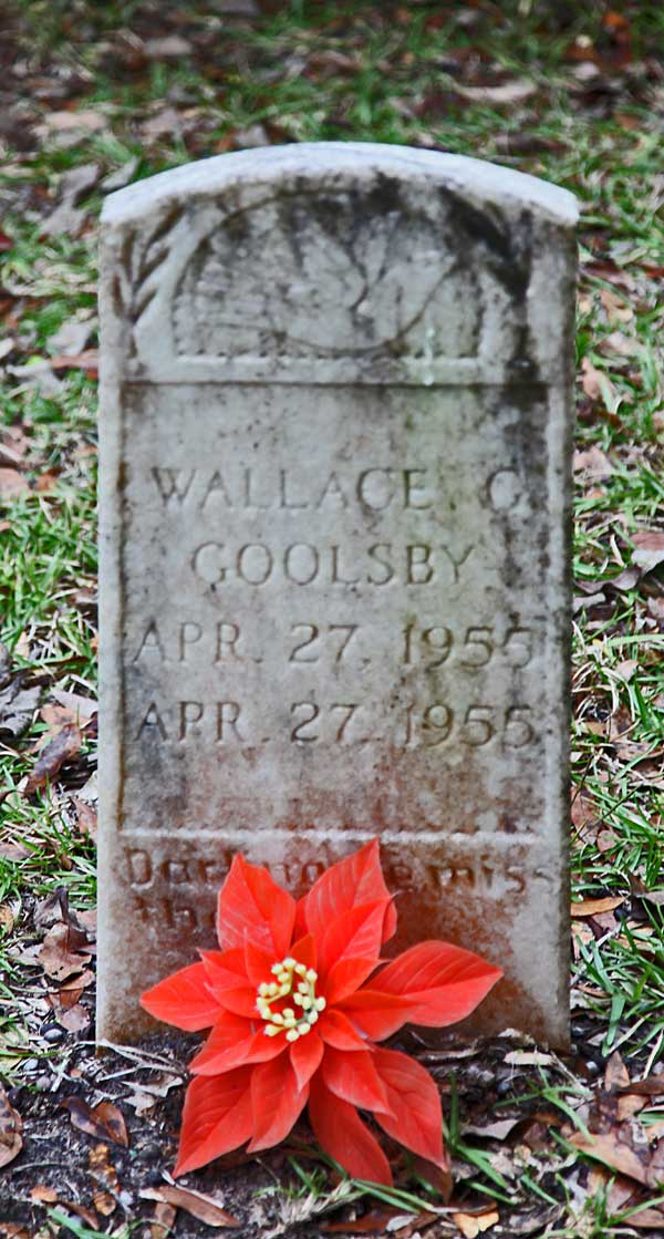 Wallace G. Goolsby Gravestone Photo