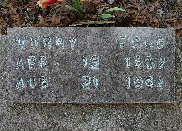 Murry Ford Gravestone Photo