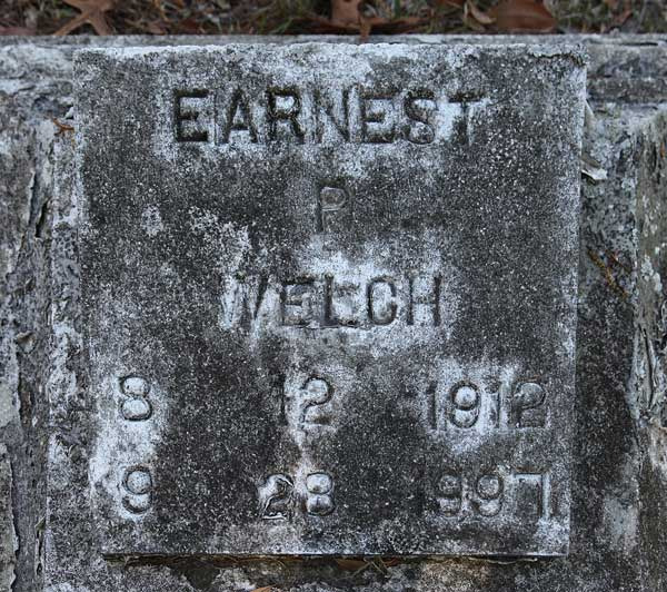 Earnest P. Welch Gravestone Photo