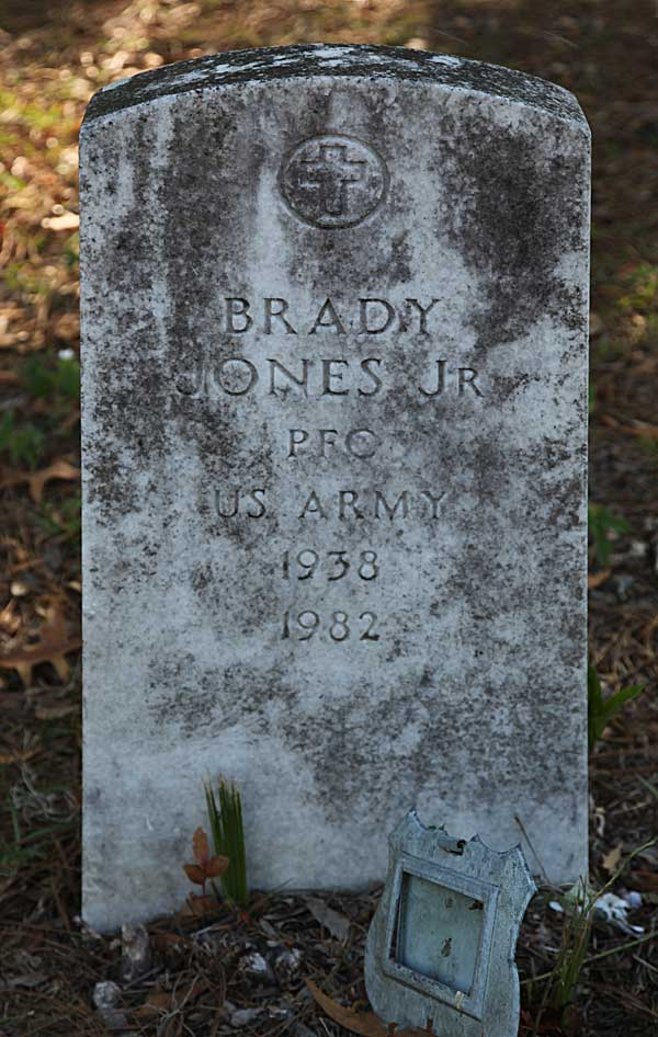 Brady Jones Gravestone Photo