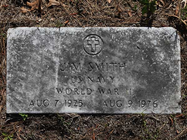 Jim Smith Gravestone Photo