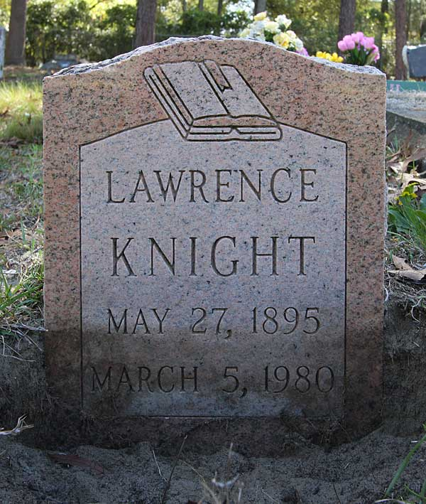 Lawrence Knight Gravestone Photo