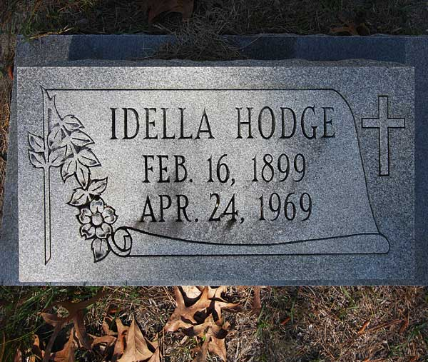 Idella Hodge Gravestone Photo