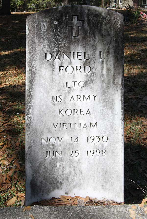 Daniel L. Ford Gravestone Photo