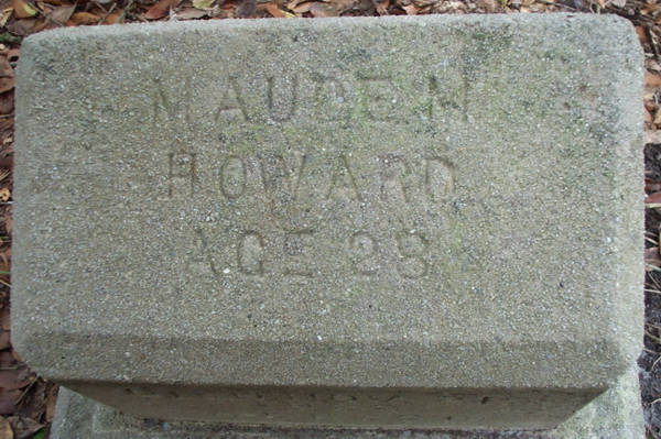 Maude M. Howard Gravestone Photo