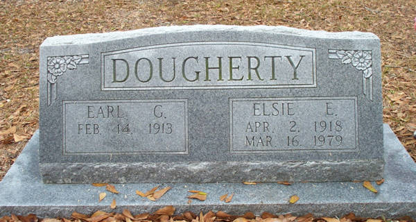 Earl G. & Elsie E. Dougherty Gravestone Photo