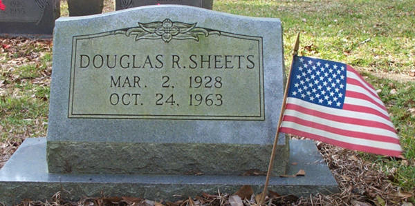 Douglas R. Sheets Gravestone Photo