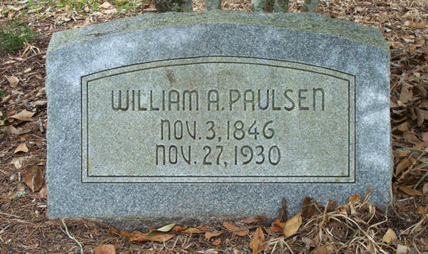 William A. Paulsen Gravestone Photo