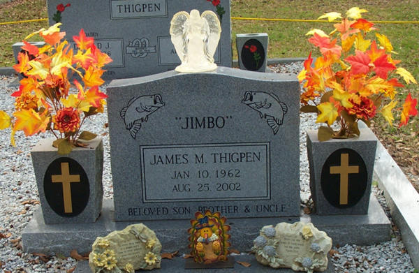 James M. Thigpen Gravestone Photo