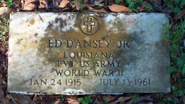 Ed Dansey Gravestone Photo