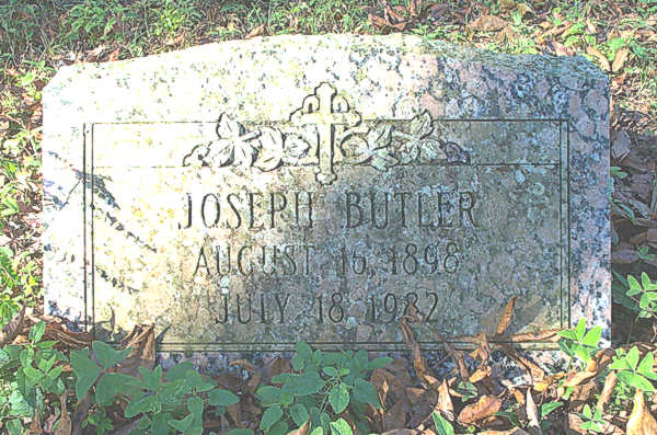Joseph Butler Gravestone Photo