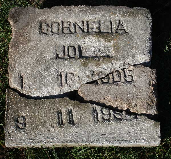 Cornelia Jol** Gravestone Photo