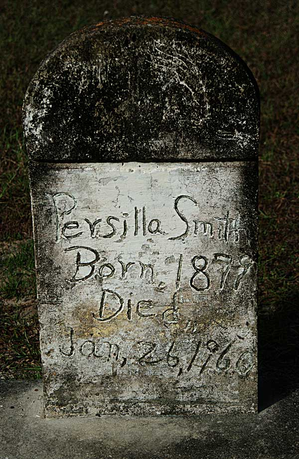 Persilla Smith Gravestone Photo