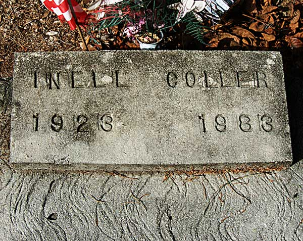 Inell Coller Gravestone Photo