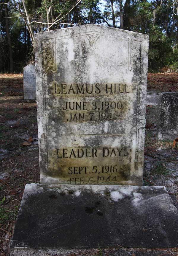 Leamus Hill Gravestone Photo