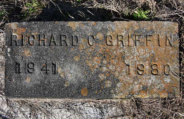 Richard C. Griffin Gravestone Photo