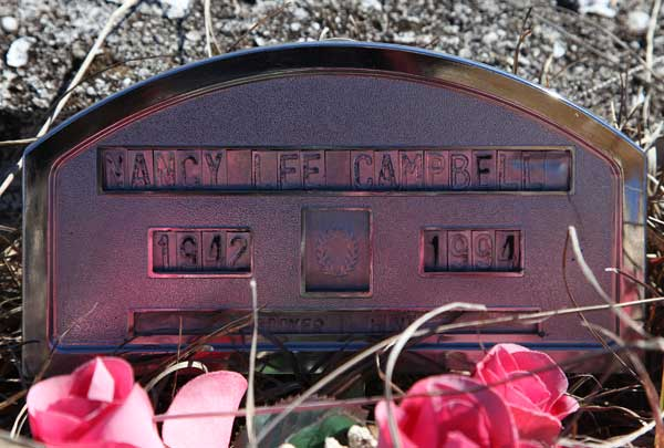 Nancy Lee Campbell Gravestone Photo