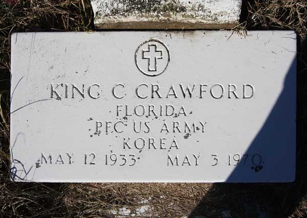 King C. Crawford Gravestone Photo
