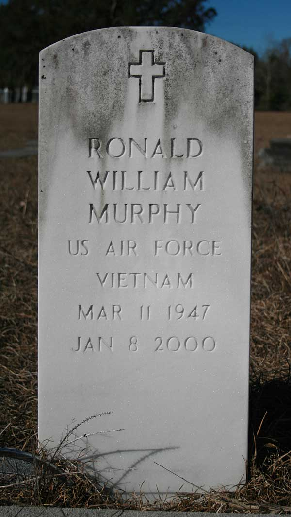 Ronald William Murphy Gravestone Photo