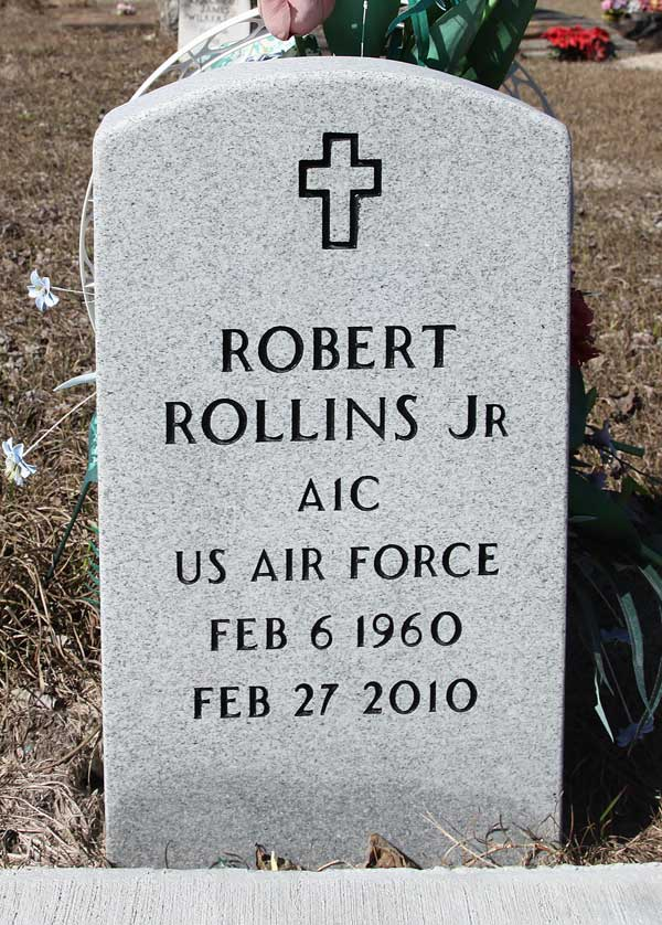 Robert Rollins Gravestone Photo