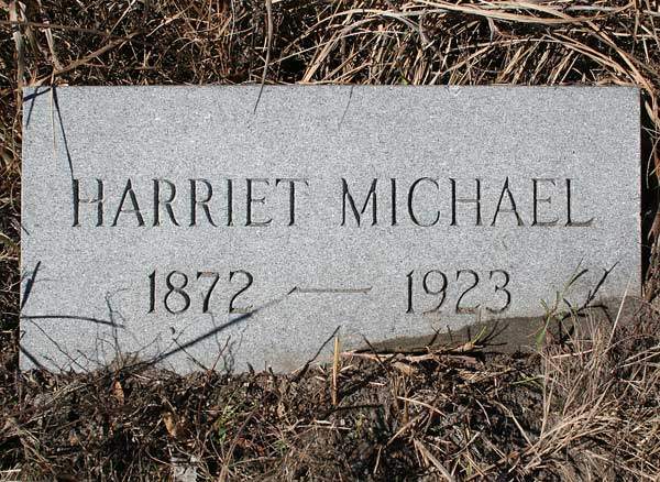 Harriet Michael Gravestone Photo