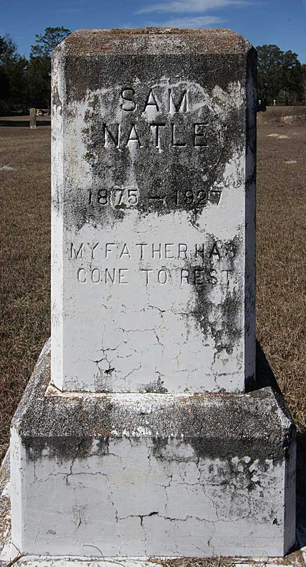 Sam Natle Gravestone Photo