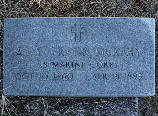 Alan Frank Murphy Gravestone Photo