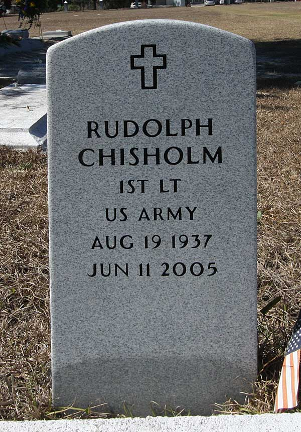 Rudolph Chisholm Gravestone Photo